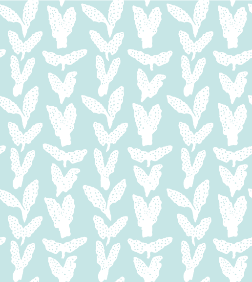 sea foam seaweed chevron fabric design