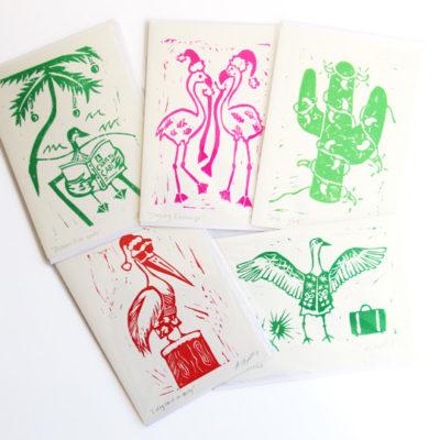 snowbird christmas cards